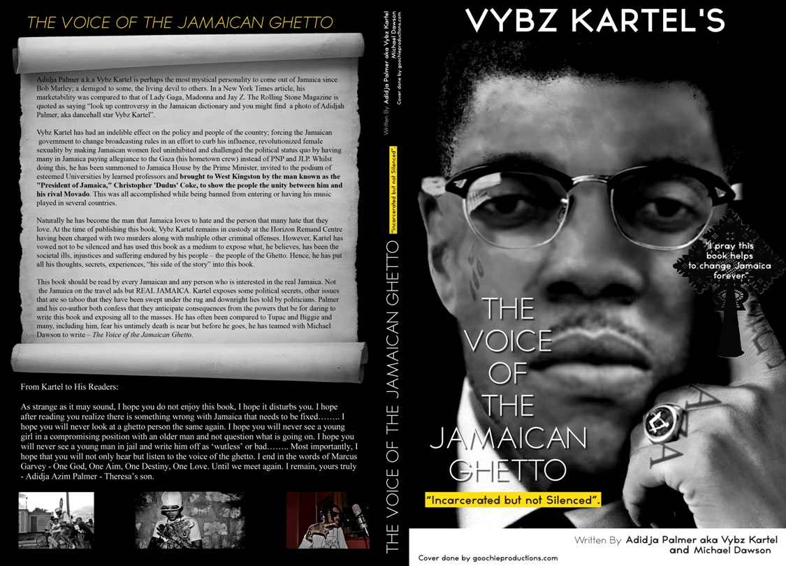 VYBZ KARTEL BOOK NOW IN THE PRESTIGIOUS PRINCETON UNIVERSITY'S LIBRARY