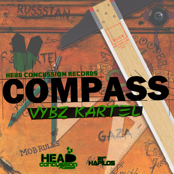 VYBZ KARTEL – COMPASS (RAW & RADIO) – RVSSIAN _ HEAD CONCUSSION RECORDS