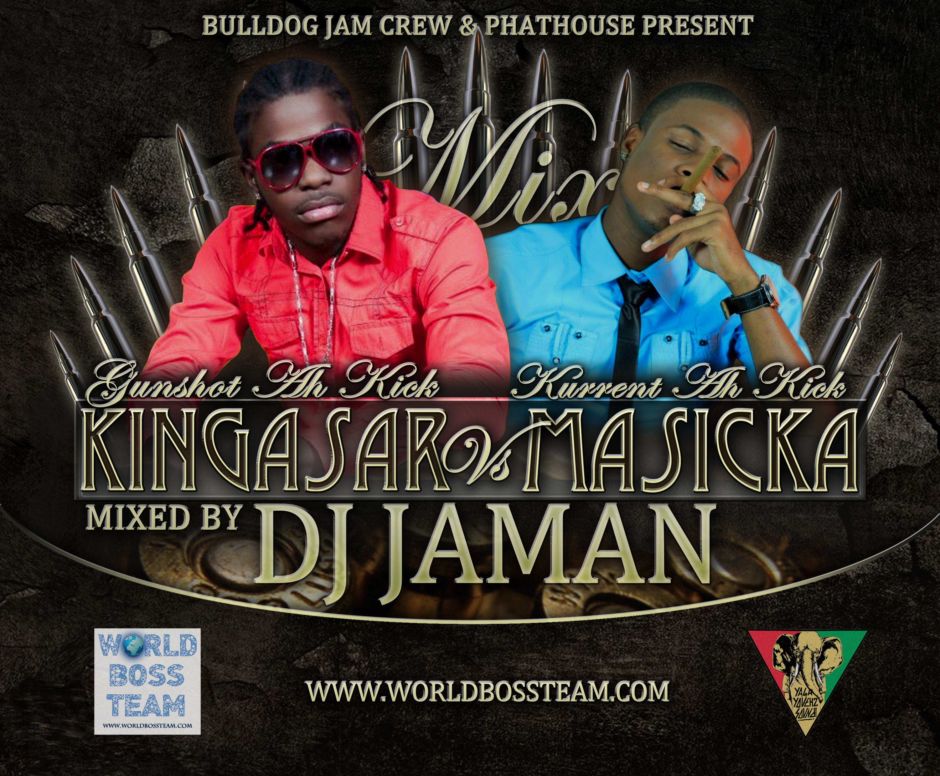 KING ASAR VS MASICKA (DJ JAMAN MIX)
