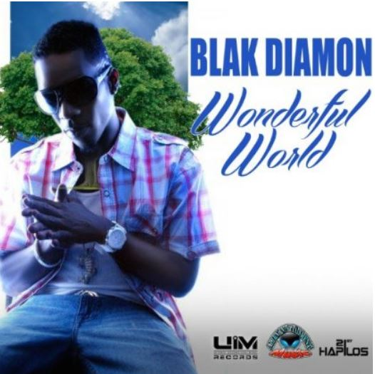 BLAK-DIAMON-WONDERFUL-WORLD-ALIEN-MUSIC-UIM-RECORDS-COVER