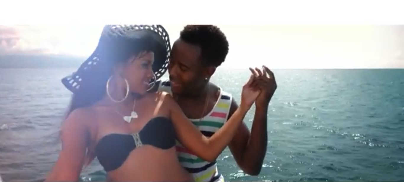Burning-from-the-heart-Chuky-Feat-Gyptian-Music-Video-cover