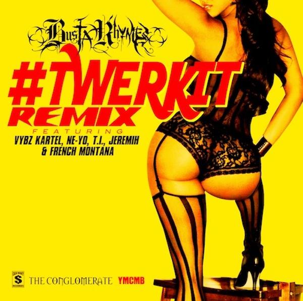 usta-Rhymes-Vybz Kartel-T.I-French Montana-Nicki Minaj-Ne-Yo-Jeremih-Artwork-#Twerkit