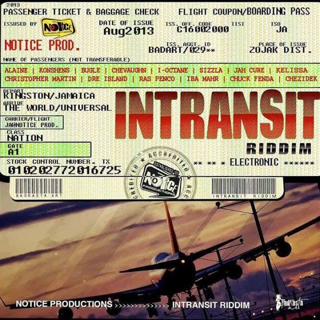 in transit riddim - artwork - cover