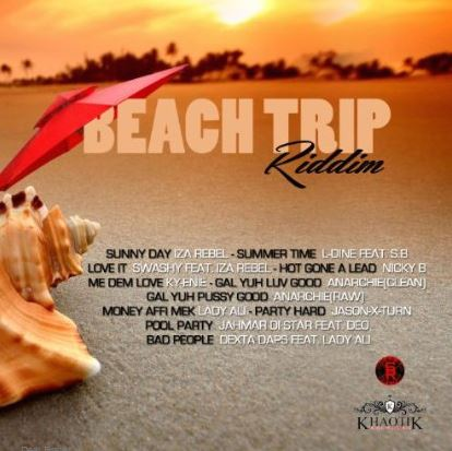 Beach-Trip-Riddim-Sound-Bad-Records-Cover