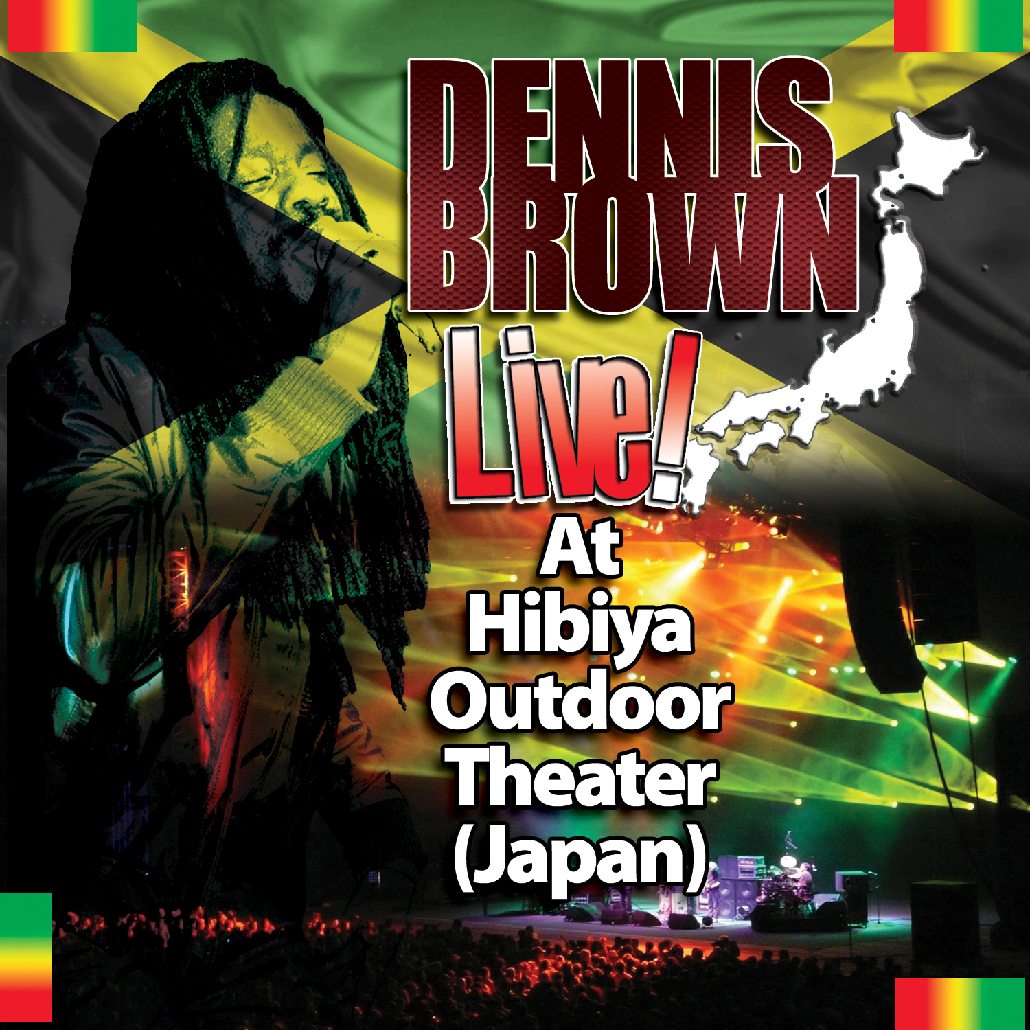 DENNIS BROWN – LIVE AT HIBIYA OUTDOOR THEATER (JAPAN)