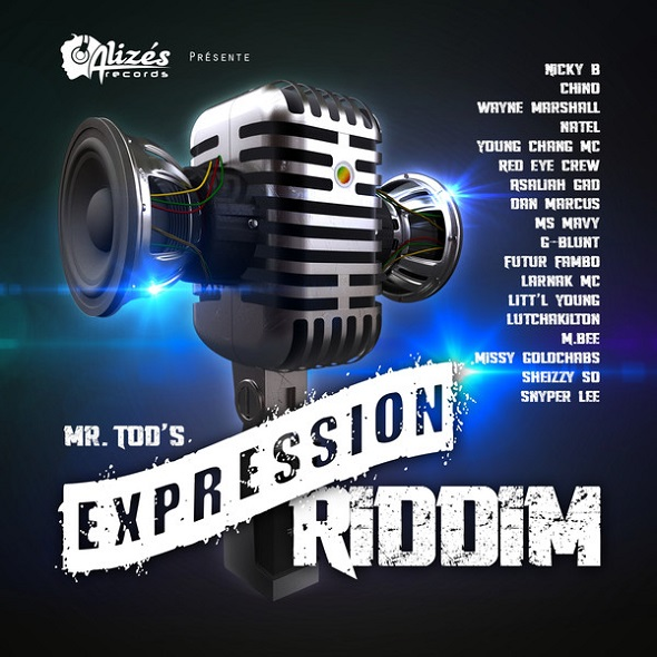 Expression-Riddim-AlizÉs-Records-Cover