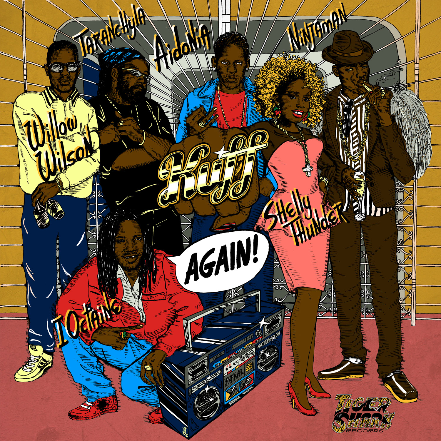 KUFF AGAIN RIDDIM – TIGER SHARK RECORDS