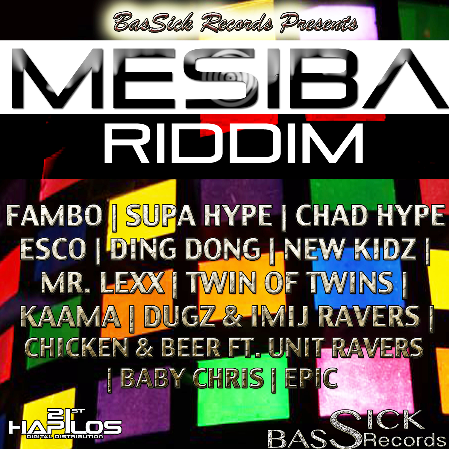 TWIN OF TWINS – MUCH CLEANER – MESIBA RIDDIM – BASSICK RECORDS