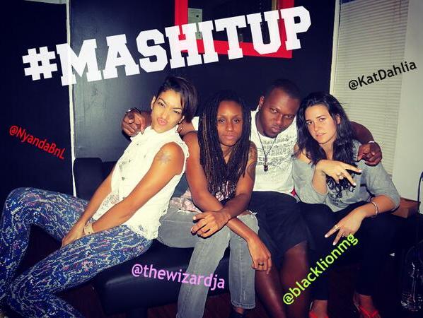NYANDA FT KAT DAHLIA & THE WIZARD – MASH IT UP – BLACK LION MUSIC GROUP