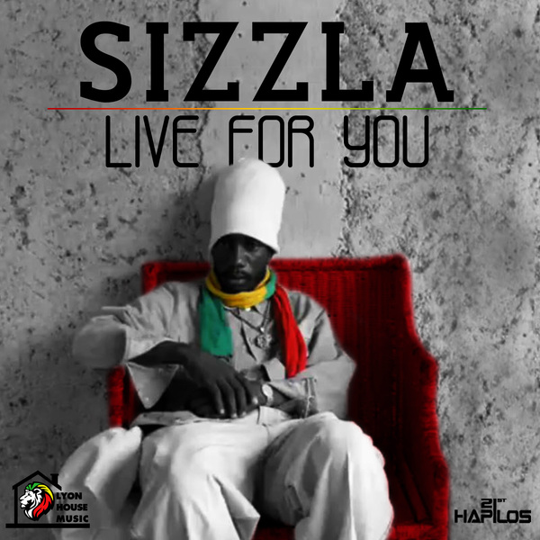 SIZZLA-LIVE-FOR-YOU-LYON-HOUSE-MUSIC-COVER