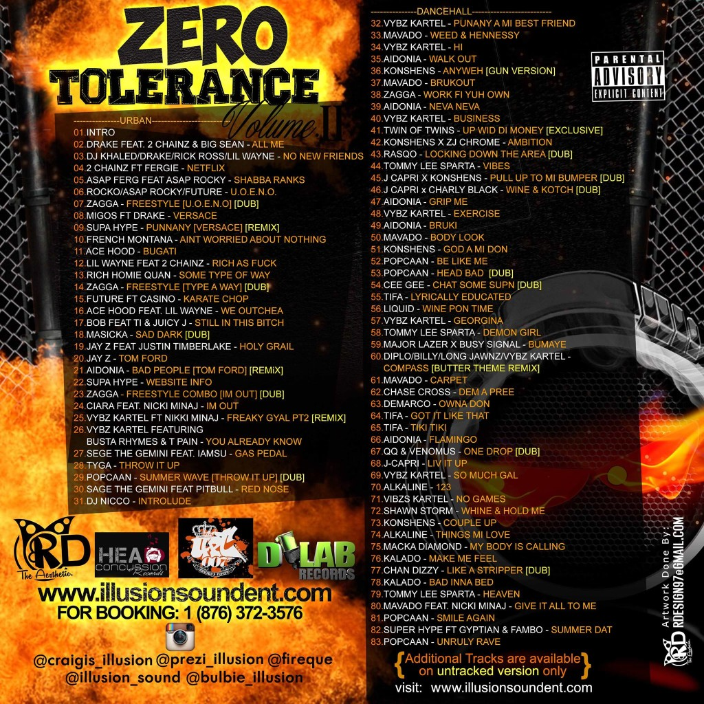 ZERO-TOLERANCE-VOL.-2-HOSTED-BY-SUPA-HYPE-007-MIXTAPE-BACK-COVER-TRACKLIST