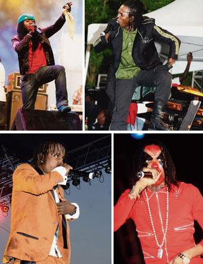 """DANCEHALL'S """"WAR SEASON"""" APPROCHES AND NO MAJOR FUEDS BREWING"""