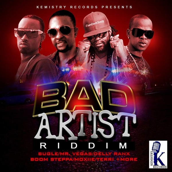 Bad-Artist-Riddim-Kemistry-Records-Cover