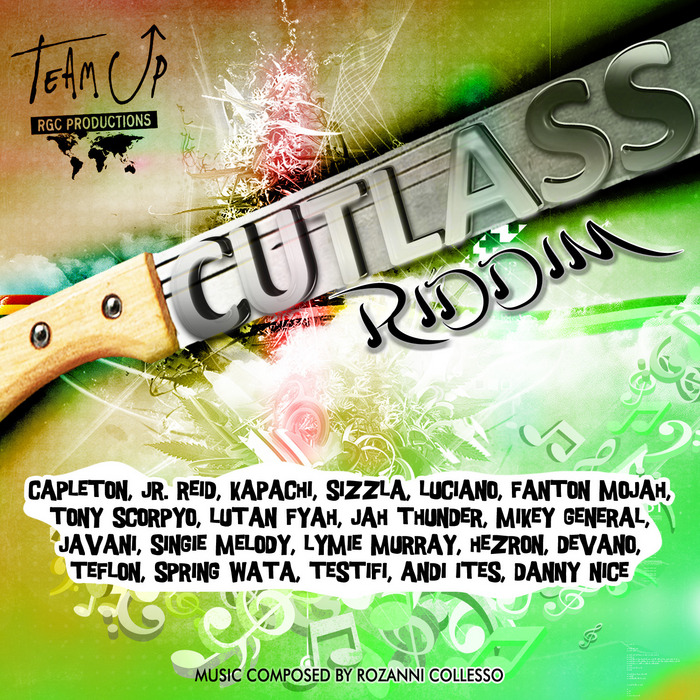 CUTLESS RIDDIM – TEAM UP RGC PRODUCTIONS