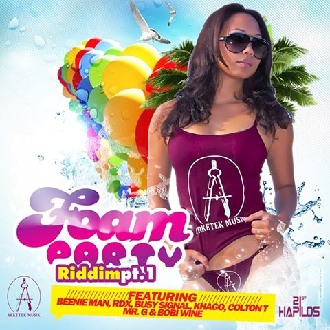 Foam-Party-Riddim-Arketek-Music-Cover
