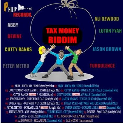 Tax-Money-riddim-Philip-Music-Cover