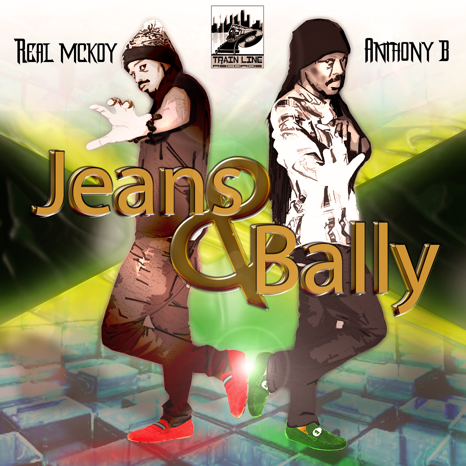 ANTHONY B FT REAL MCKOY – JEANS & BALLY – TRAIN LINE RECORDS