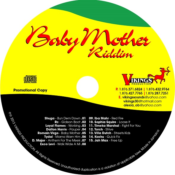 BABY MOTHER RIDDIM – VIKINGS PRODUCTION