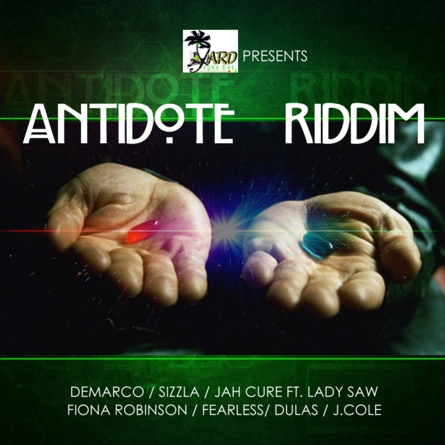 JAH-CURE-FT-LADY-SAW-DONT-WANNA-FIGHT-ANTIDOTE-RIDDIM-YARD-VYBZ-ENTERTAINMENT-COVER