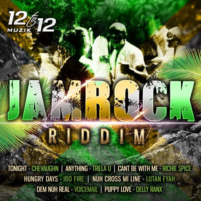 Jamrock-Riddim-EP-12-To-12-Muzik-Artwork