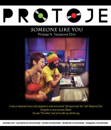 PROTOJE FT TESSANNE CHIN – SOMEONE LIKE YOU