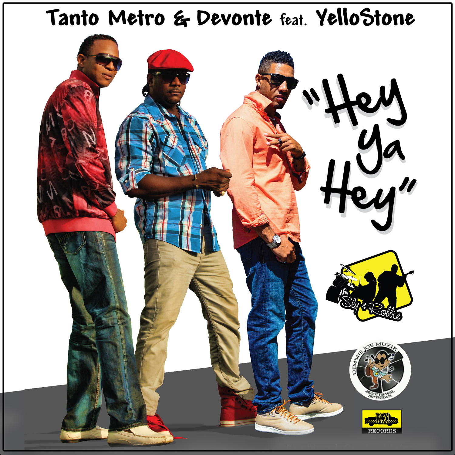 TANTO-METRO-DEVONTE-FT-YELLOSTONE-HEY-YA-HEY-ONE-POP-MUSIC-TAXI-RECORDS-Cover