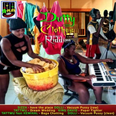 DUTTY CLOTHES RIDDIM (FULL PROMO) – 4PLAY RECORDS