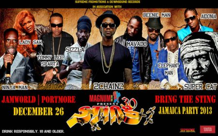 LADY SAW VS MACKA DIAMOND CLASH AT STING 2013 (OFFICIAL VIDEO)