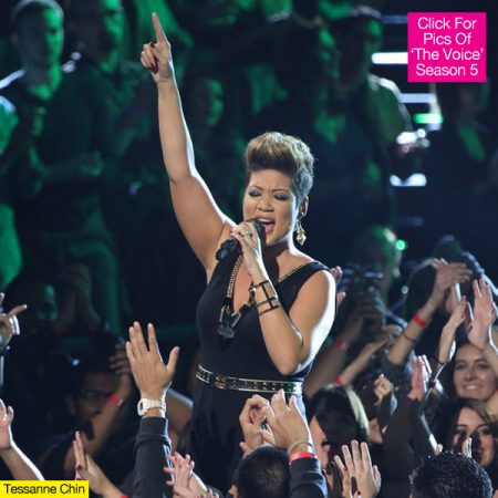 TESSANNE CHIN DELIVERS AN OUTSTANDING PERFORMANCE IN THE VOICE USA 2013 FINALS