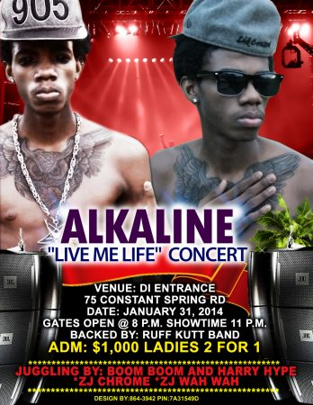 "ALKALINE ""LIVE MI LIFE"" CONCERT HIGHLIGHTS – VIRAL VIDEO"