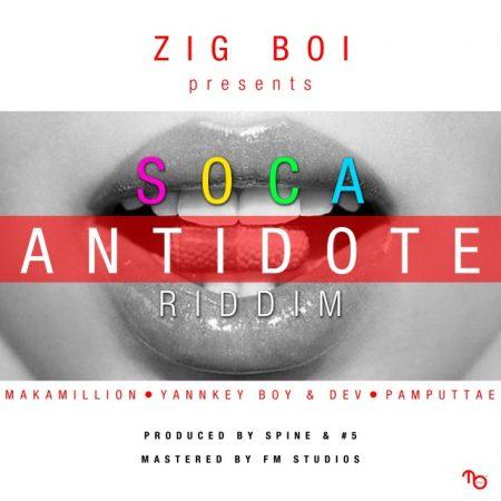 SOCA ANTIDOTE RIDDIM – SPINE & #5 RECORDS & FM STUDIOS