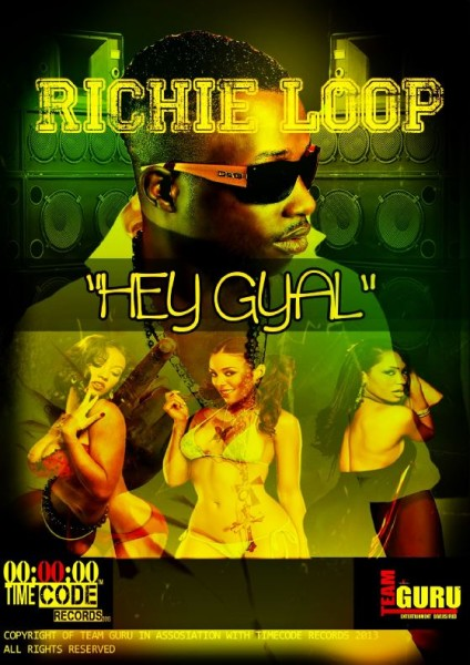 RICHIE-LOOP-HEY-GYAL-COVER