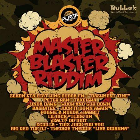MASTER BLASTER RIDDIM (FULL PROMO) – PLATTA RECORDING STUDIO