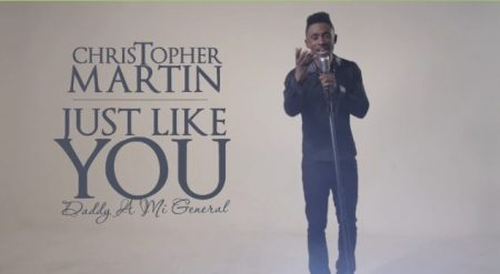 CHRISTOPHER MARTIN – JUST LIKE YOU – MUSIC VIDEO