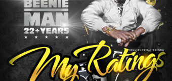 BEENIE MAN – MY RATINGS [MAIN & INSTRUMENTAL] STUDIO VIBES ENTERTAINMENT