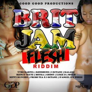 Brit-jam-flesh-riddim-Cover