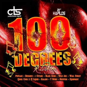 100 DEGREE RIDDIM COVER