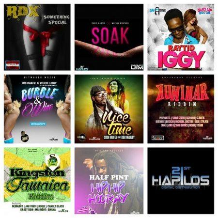 1st-hapilos-reggae-dancehall-releases-march