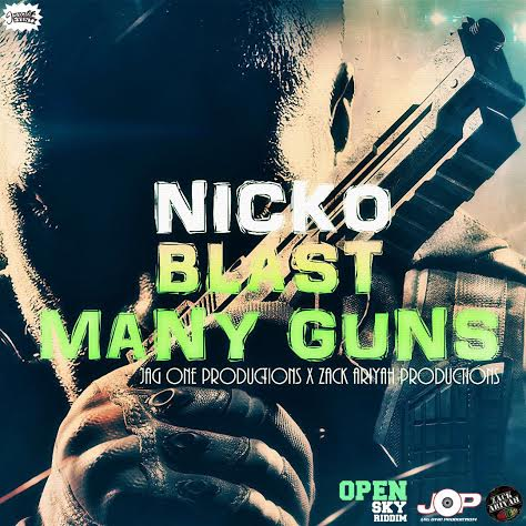 NICKO-BLAST-MANY-GUNS-COVER