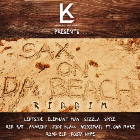 sax-on-da-beach-riddim-cover