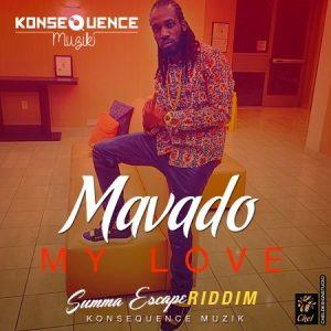 Mavado-My-Love-Summa-Escape-Riddim-cover