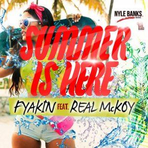 fyakin-ft-real-mckoy-Summer-is-Here-artwork