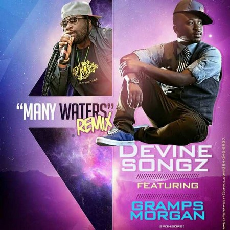 devine-songz-ft-gramps-Morgan-many-waters-remix-artwork