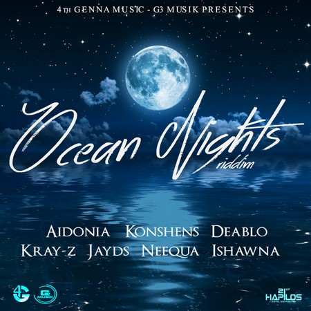 OCEAN-NIGHTS-RIDDIM-COVER OCEAN NIGHTS RIDDIM [FULL PROMO] - 4TH GENNA MUSIC _ G3 MUSIK
