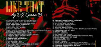 DJ GREEN B – BLESSED LIKE THAT – MIXTAPE