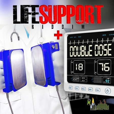 Life-Support-Riddim-Double-Dose-Cover LIFE SUPPORT RIDDIM (DOUBLE DOSE) [FULL PROMO] - JA PRODUCTIONS
