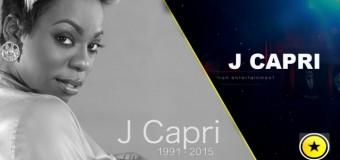 J CAPRI TEARFUL FAREWELL [FUNERAL VIDEO]