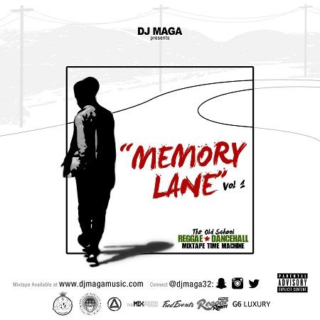 Dj-Maga-Memory-Lane-mixtape-cover