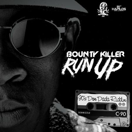 LinkUp Di CD MIX Vibes : BOUNTY KILLER – RUN UP – 90S DON