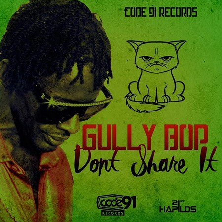 GULLY-BOP-DON'T-SHARE-IT-COVER